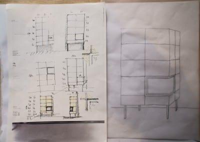 Entwurf Architekt Franz Leuthner
