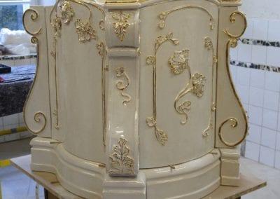 barocker Überschlagsofen